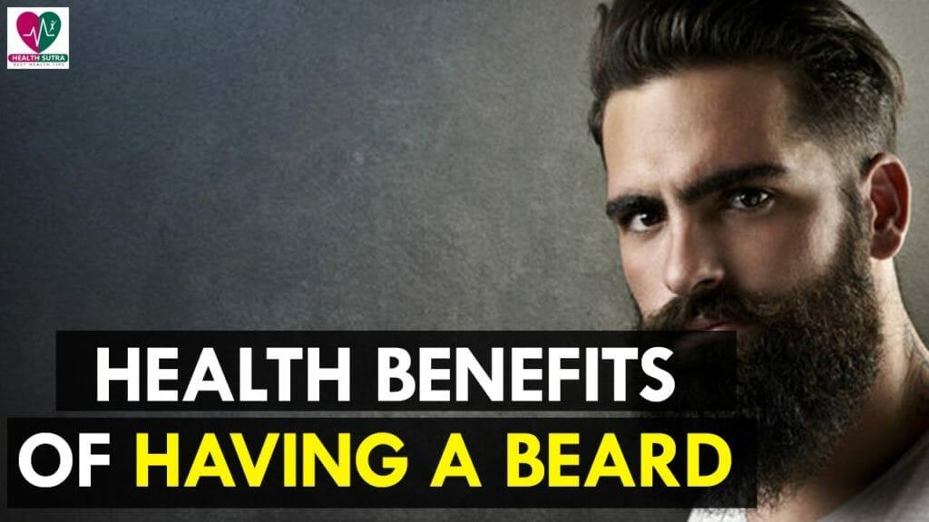 health benefit of beard