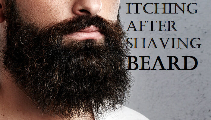 itching after shaving beard