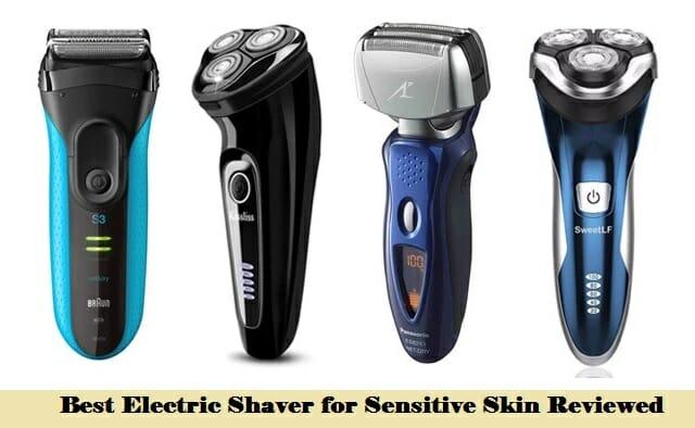 best electric shaver for sensitive skin