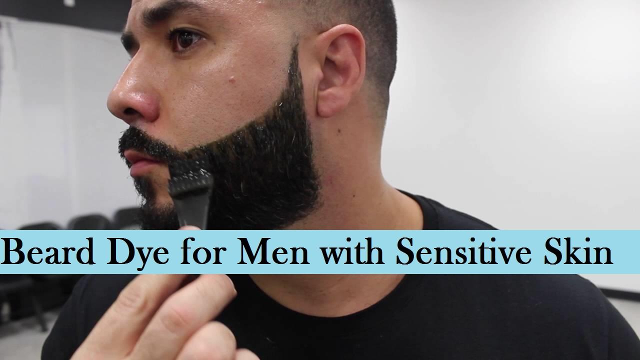 beard dye for sensitive skin