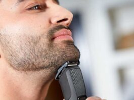beard and mustache trimmer