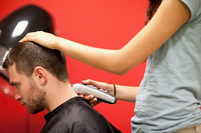 how to cut a man's hair with clippers