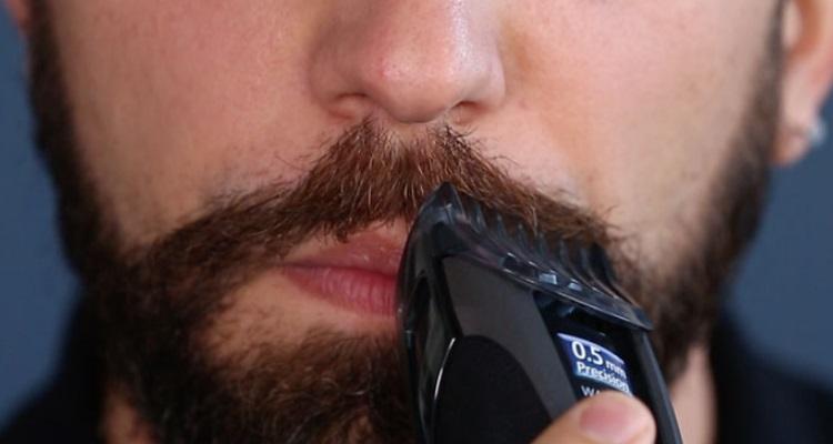 moustache trimming